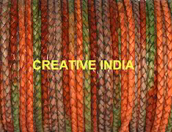 Bolo Braided Leather Cords in Multi colors