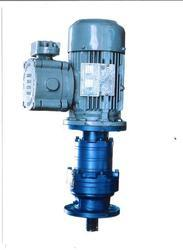 flange mounted flame proof geared motor