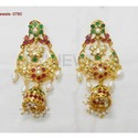 Antique Semi Precious Earring