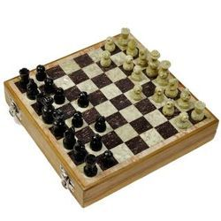 Marble Sope Stone Chess Set