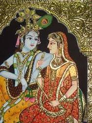 Traditional Painting Krishna