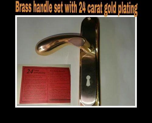 Brass Main Door Handle Set & Brass Main Door Handle Set \u0026 Triple Action Door Lock Manufacturer ...