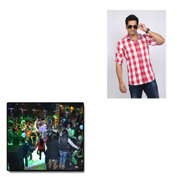Designer Check Shirts for Parties