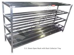 stainless steel shoes rack