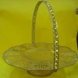 Fancy Metal Basket ( BK - RHF - 11 )