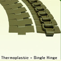 Thermoplastic Single Hinge