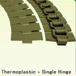 Thermoplastic Single Hinge