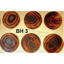 BH 3 Buffalo Horn Button Blanks