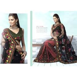 Double Shade Fancy Saree