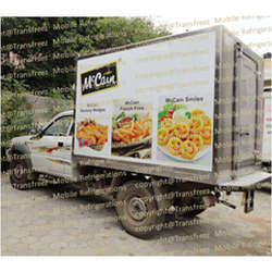 Frozen Food Distribution Reefer Truck