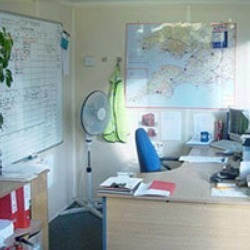 Furnished Office Container