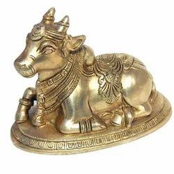 Nandi Brass Statue