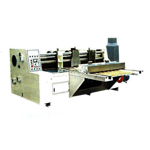Automatic Feeding Combine Creasing & Slotting Machine