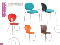 Hard PVC Chairs - Trendy/Pale/Ravian/Furn