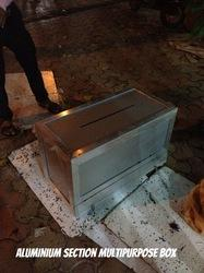 Aluminum Section Multipurpose Box