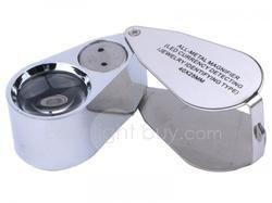 40x LED Magnifier Lens Loupe