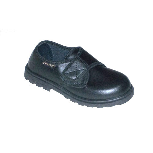 Kids Black School Shoes