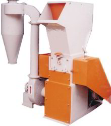 plastic scrap grinders with blower attachment