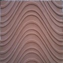Red Sandstone Carving Panel