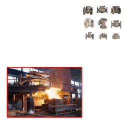 gate valve investment casting for steel industry