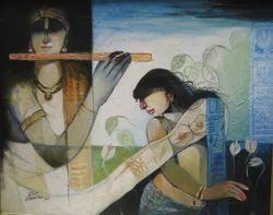 Arun+Sammader+%28+Acr+On+Canvas+%29+Paintings