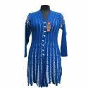 Ladies Knitted Long Coat