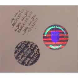 Pattern Release and Overpriting Release Hologram Sticker