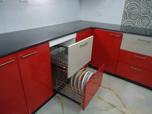 L Shaped Kitchen Designing