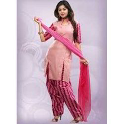 Designer Cotton Unstitched Suit