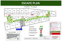 Fire Evacuation Plan Fire Signs