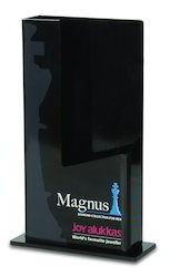 Acrylic Magnus Diamond Collection Stand