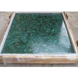 Malachite Square Tables Tops
