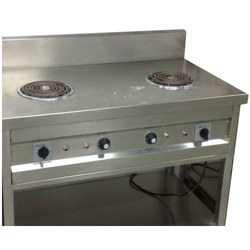 two hob electric stove with oven