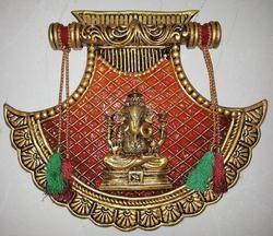 Medium Fan Ganesh /Laxmi/Sarsawati