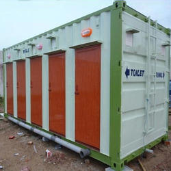 combined toilet cabin