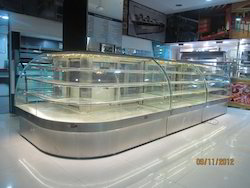 L   Type Cold Display Counter