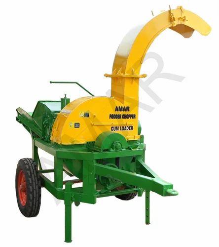 Fodder Chopper Cum Loader Chaff Cutter Tractor Model
