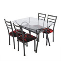 Wrought Iron Dinning Set (DT-20)