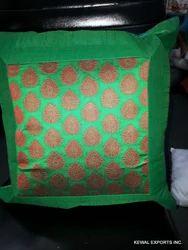 Silk Fabric Cushion Cover