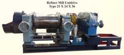 refiner mill with bull gear