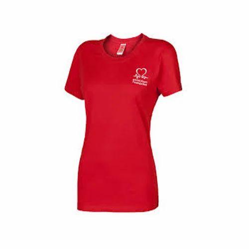 Red Ladies T-Shirts