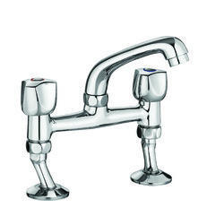 basin two hole mixer for hand washing area