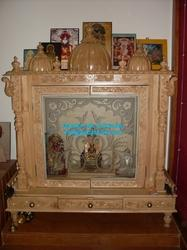 Wooden Mandir   Wooden Temple Design/ Wooden Temple For Home Manufacturer  From Udaipur