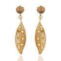 925 Sterling Silver Crystal Quartz Dangle Earring Jewelry