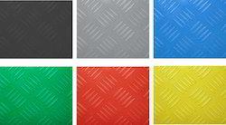 Checkered Rubber Sheet