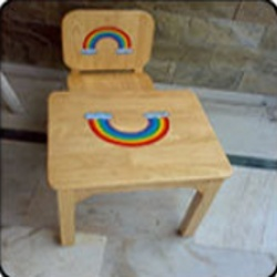 kids study furniture children's wooden kids table chair tables manufacturer from