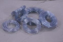 White PVC Clear Tube, Size: 1/2 inch-1 inch