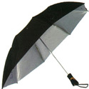 Black Coated Umbrella