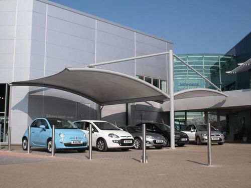 Commercial Car Parking Canopy & Fix Canopies - Commercial Car Parking Canopy Manufacturer from Pune