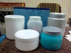 Cream Plastic Jars